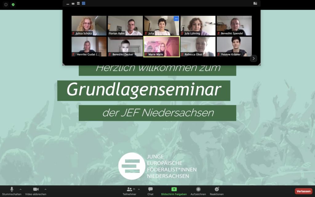 Gruppenfoto digitales Grundlagenseminar