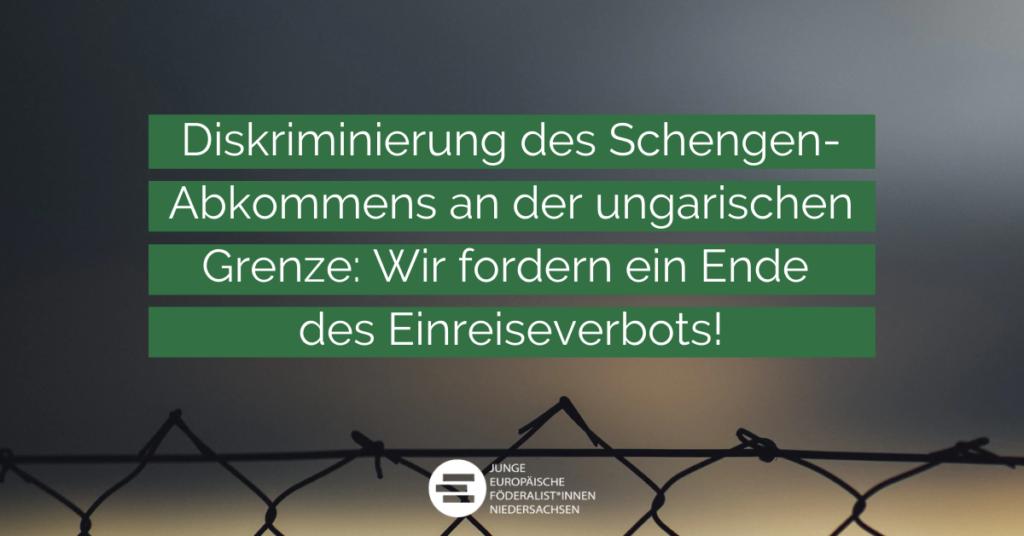 Meinungsbeitrag: Ungarn Einreiseverbot