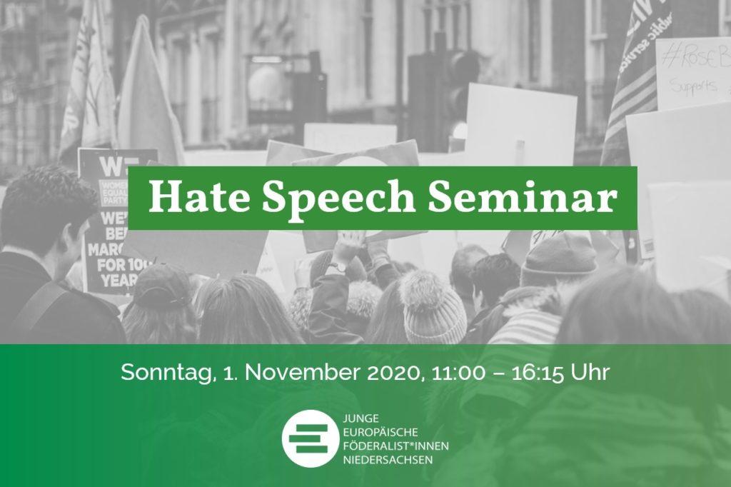 Sharepic Hate Speech Seminar