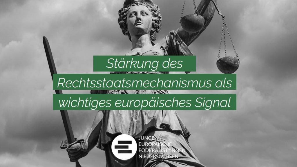Sharepic Stärkung des Rechtsstaatsmechanismus